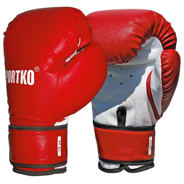 Боксерские перчатки SportKo ПД2 RD 10 oz